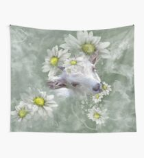 Don't Eat the Daisies Baby Goat Wall Tapestry