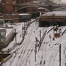 Edinburgh Waverley station by onlyalice
