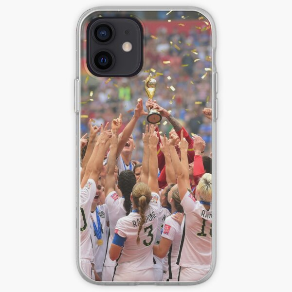 USWNT World Cup Champions 2015 Case iPhone Soft Case