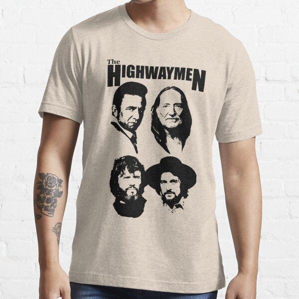 Outlaw Country Super Group - Le pochoir noir-2 T-shirt essentiel