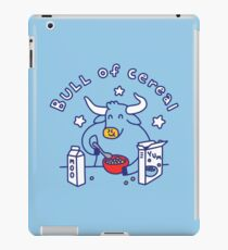 Bull of Cereal iPad Case/Skin