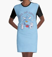 Bull of Cereal Graphic T-Shirt Dress
