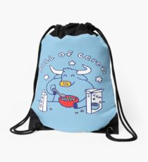 Bull of Cereal Drawstring Bag
