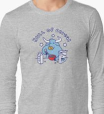 Bull of Cereal Long Sleeve T-Shirt