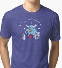 Bull of Cereal Tri-blend T-Shirt