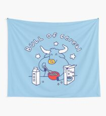 Bull of Cereal Wall Tapestry