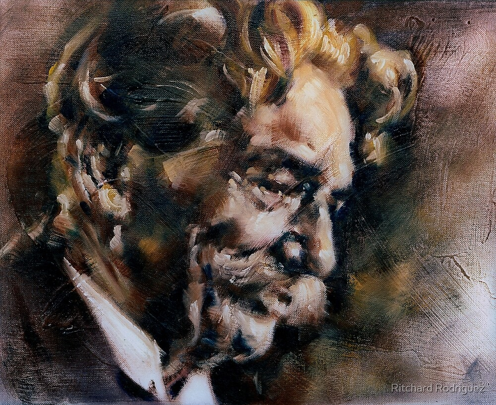 Portrait of Albert Schweitzer by Ritchard Rodriguez