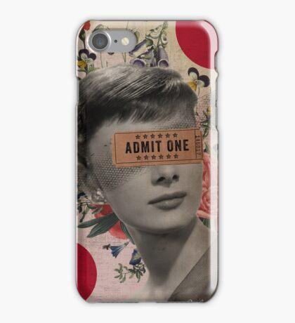 Public Figures Collection -- Audrey by Elo iPhone Case/Skin