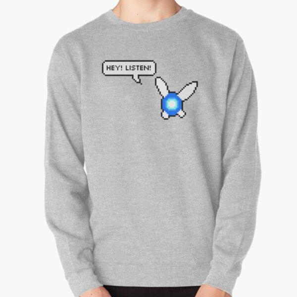 Hey! Listen! Pullover Sweatshirt