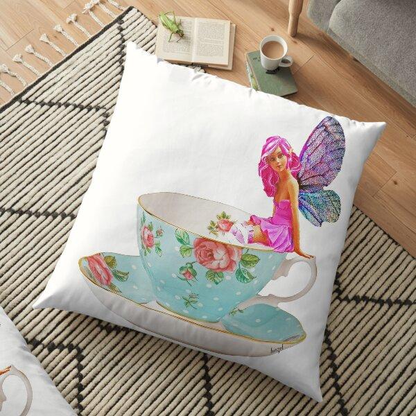Rose, Teacup Fairy, Floor Pillow