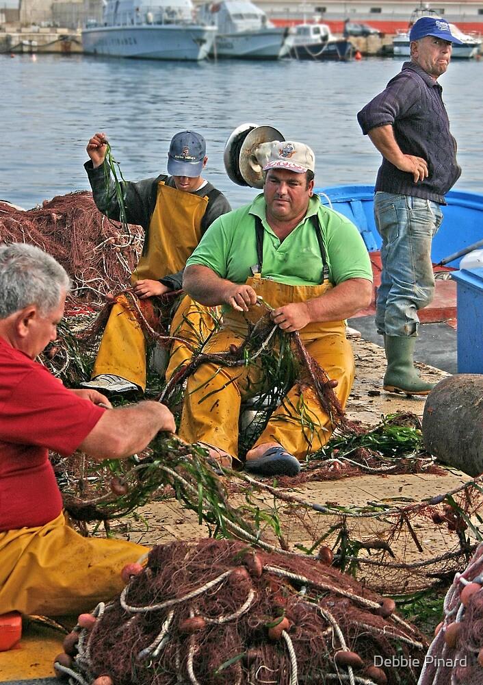 Fishermen in Gallipoli by Debbie Pinard