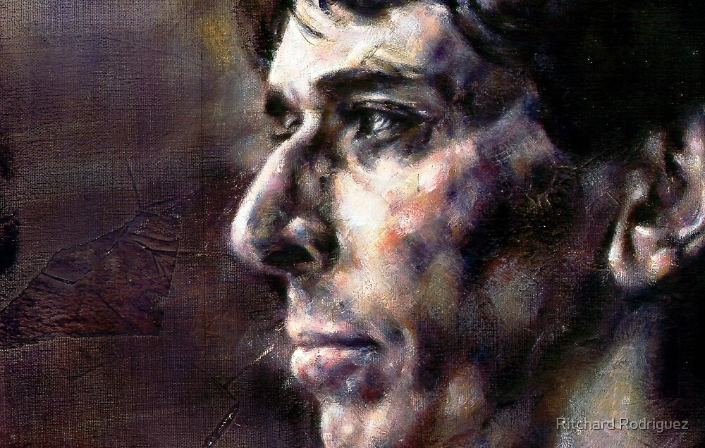 Portrait of John Cale by Ritchard Rodriguez