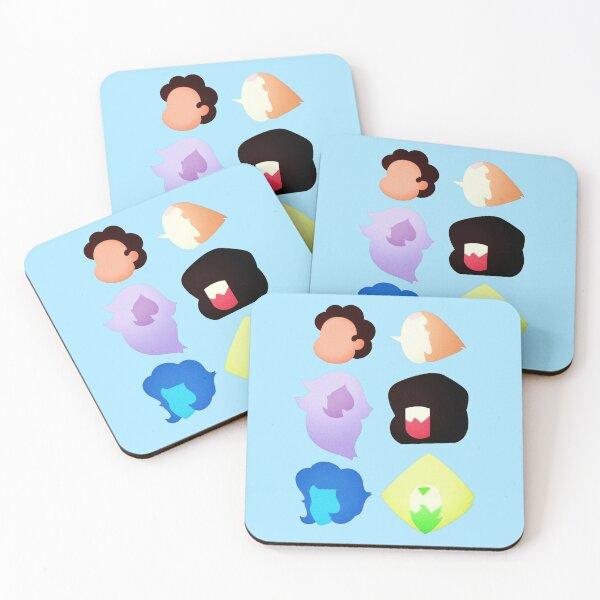Steven Universe Heads Coasters (Set of 4)