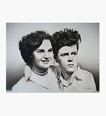 Jean & Jimmy Photographic Print