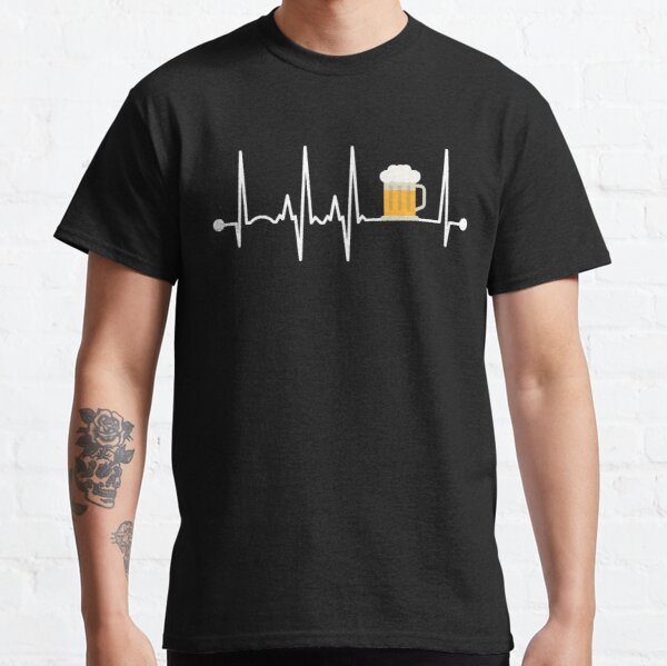 Beer Heartbeat Classic T-Shirt