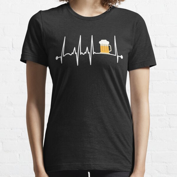 Beer Heartbeat Essential T-Shirt