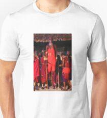 Samburu dancer, KENYA Unisex T-Shirt