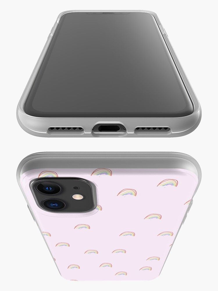 Alternate view of pink rainbow case iPhone Case & Cover