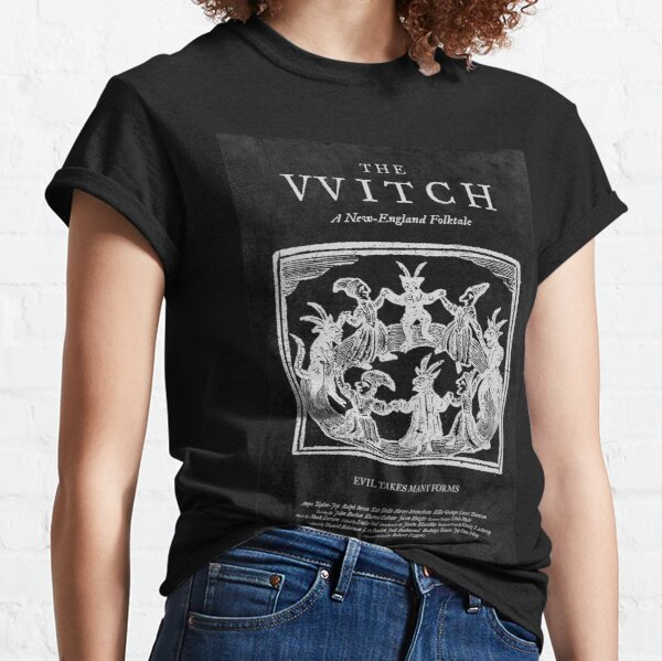 The Witch Film Movie Poster Black Phillip Thomasin VVitch Classic T-Shirt