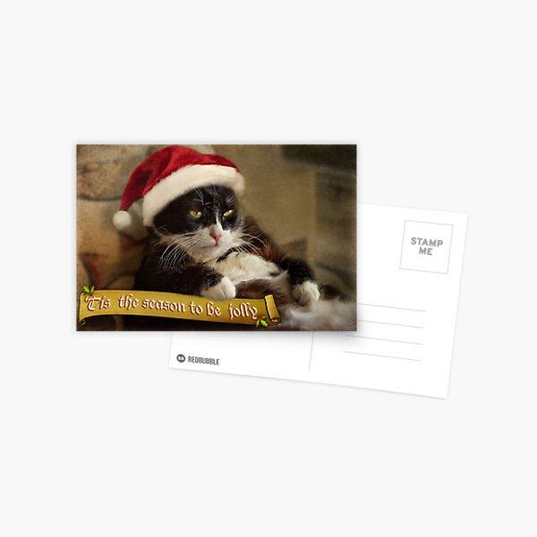 Tis the season for Trouble Postcard