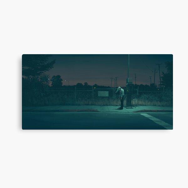 Midnight Upload Canvas Print