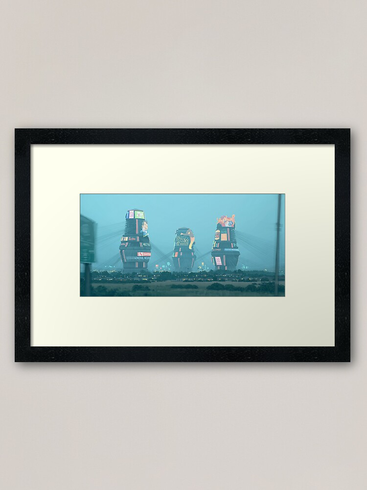 Alternate view of Bell Towers Framed Art Print