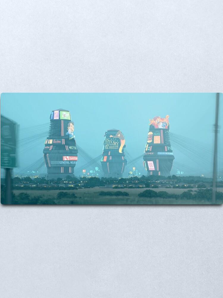 Alternate view of Bell Towers Metal Print