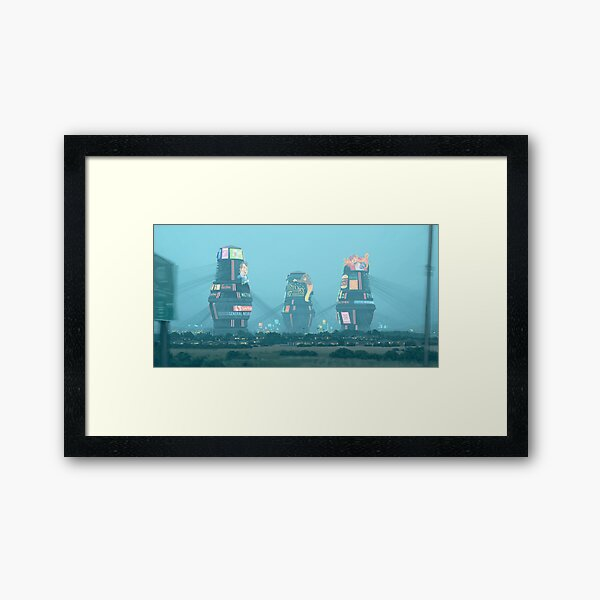 Bell Towers Framed Art Print
