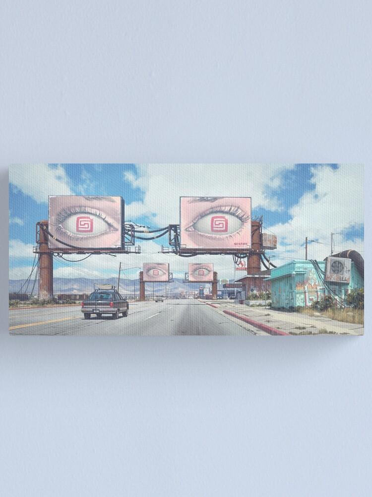 Alternate view of Mojave Canvas Print