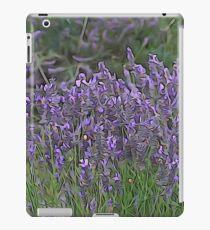 Illustrated lavender iPad Case/Skin