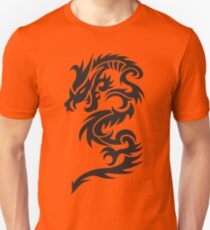 Tribal dragon totem Unisex T-Shirt