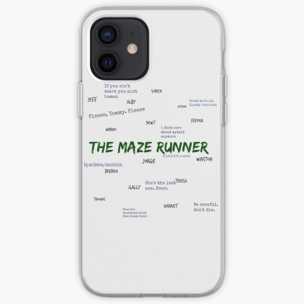 Le Maze Runner Qoutes Coque souple iPhone