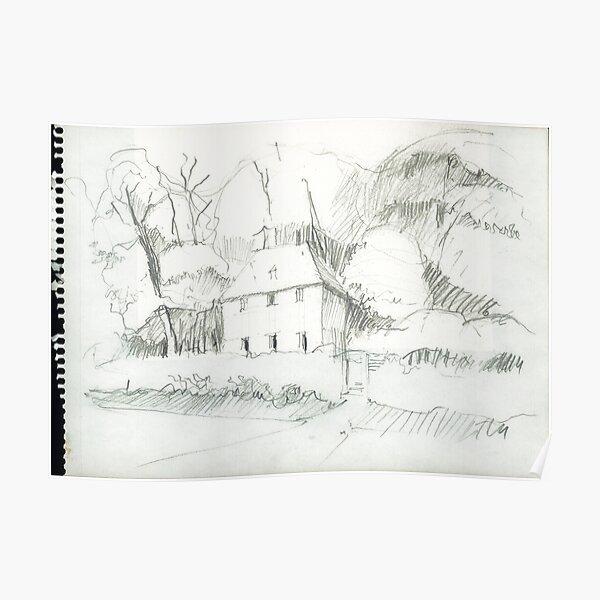 Goethe - Gardenhouse Poster