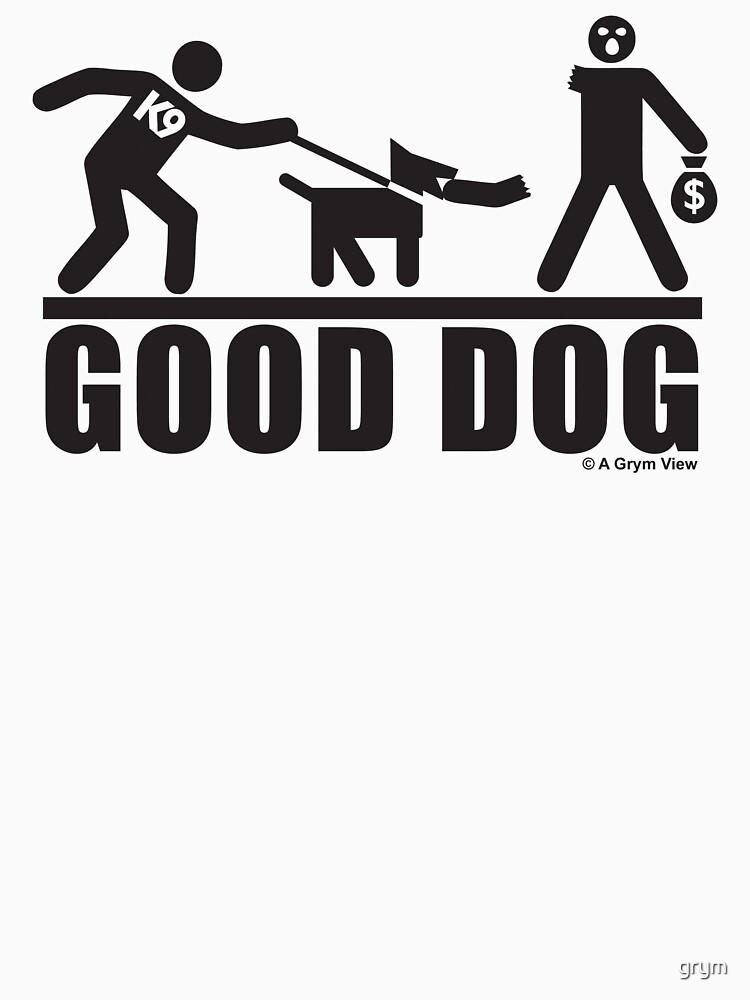 Good Dog K9 Pictogram | Unisex T-Shirt