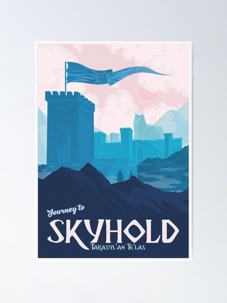 Alternate view of Where The Sky Was Held Back Poster