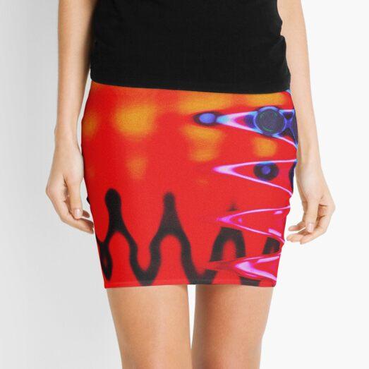 Red Hot Vibe Mini Skirt