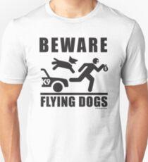 Flying Dogs K9 Pictogram Unisex T-Shirt