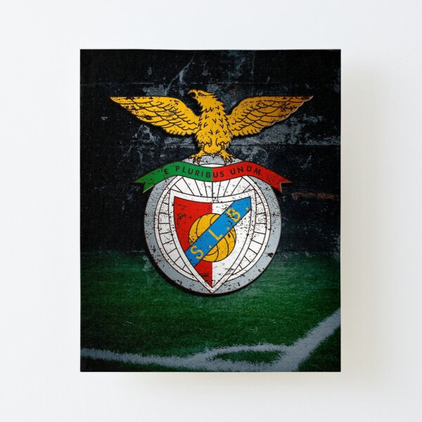 S.L. Benfica Canvas Mounted Print