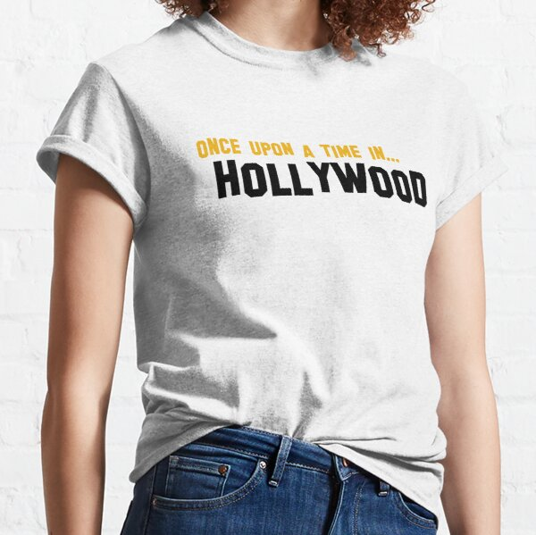 Once upon a time in hollywood T-shirt classique