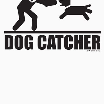 Dog Catcher K9 Pictogram by grym