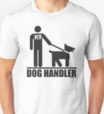 Dog Handler K9 Pictogram T-Shirt
