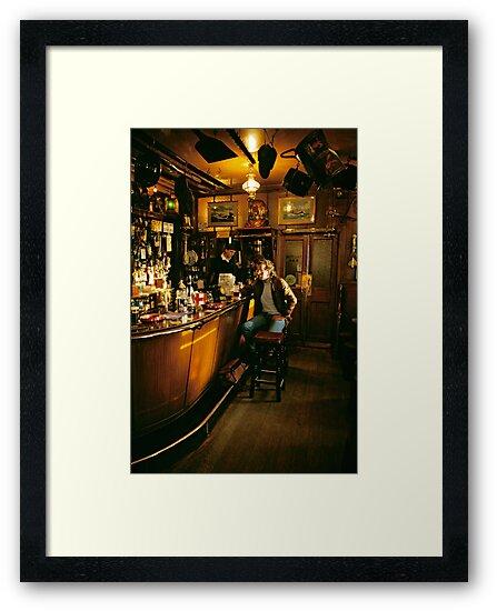 Interior of Ship Inn, Seahouses, Northumberland, UK, 1980´s by David A. L. Davies
