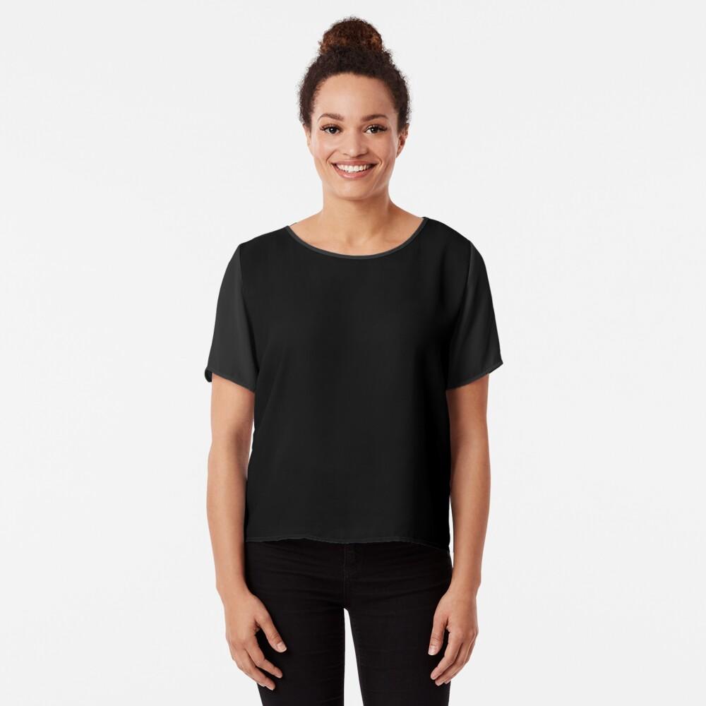 De color negro Blusa