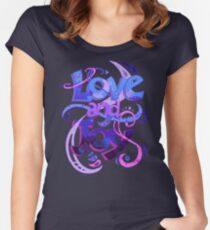 Love and Joy Women's Fitted Scoop T-Shirt
