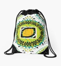 Beach Style for the Maiden Drawstring Bag