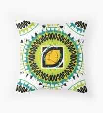 Beach Style for the Maiden Throw Pillow