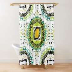 Beach Style for the Maiden Shower Curtain