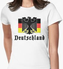 Deutschland Women's Fitted T-Shirt