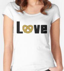 Love Pretzels Women's Fitted Scoop T-Shirt