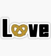 Love Pretzels Sticker